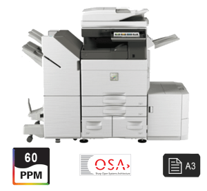 sharp 60ppm color mfp printer