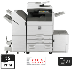 35ppm printer - sharp a3 mfp