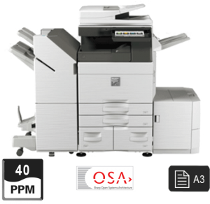 sharp mfp black and white 4050 4070