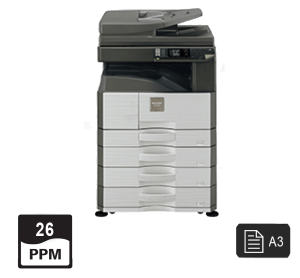 sharp 26ppm pages print