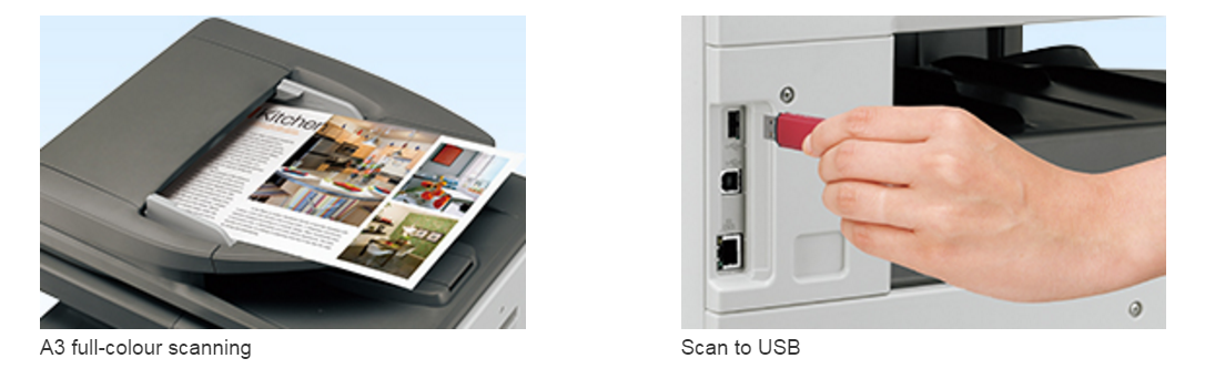 sharp mfp scanning usb