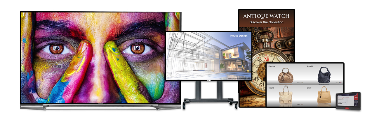 South Africa screen display commercial grade